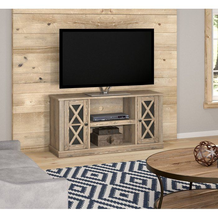 """Widely Used Abbot 60 Inch Tv Stands With Regard To Emelia Tv Stand For Tvs Up To 55"""" With Optional Fireplace In (View 14 of 25)"""