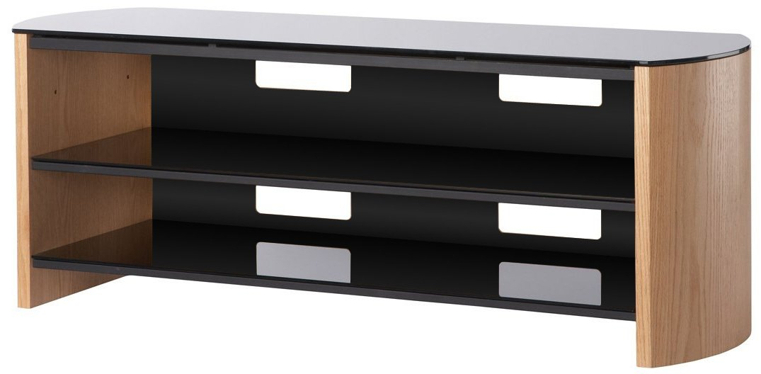 Widely Used Alphason Tv Cabinet In Alphason Fw1350 Lo/b Tv Stands (View 19 of 25)
