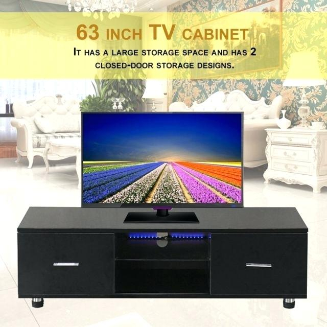 Widely Used Black Tv Cabinets With Drawers Intended For Black Tv Unit – Nudl (Image 25 of 25)