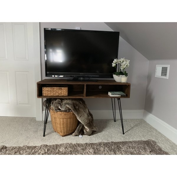 Widely Used Century Sky 60 Inch Tv Stands Pertaining To Shop Carbon Loft Lee Reclaimed Fir 48 Inch Tv Stand – Free Shipping (View 18 of 25)