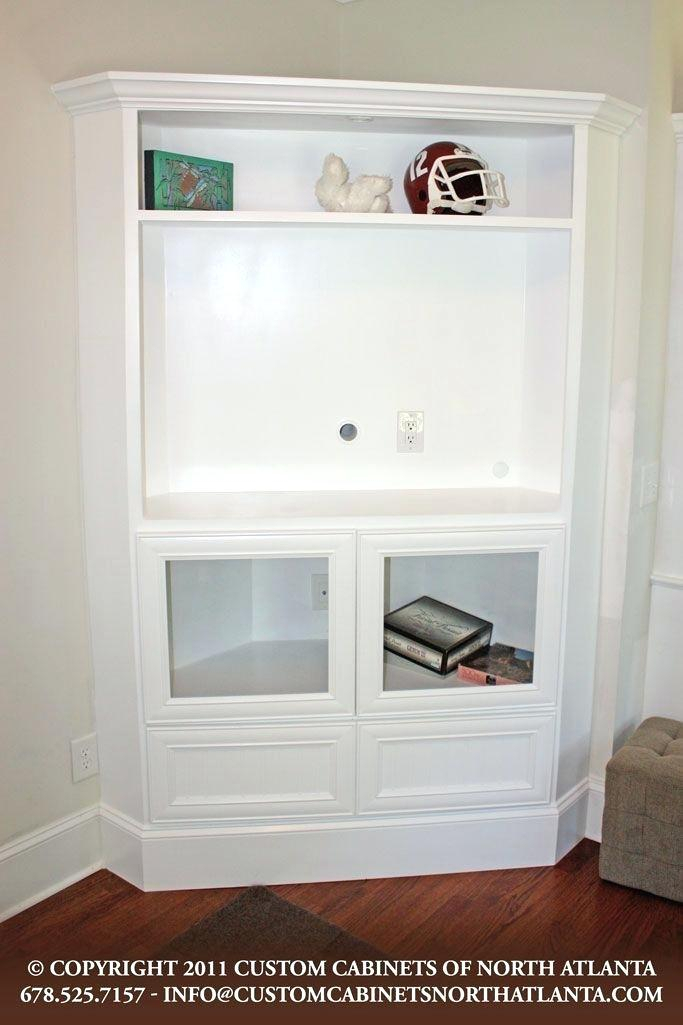 Widely Used Corner Tv Cabinets With Glass Doors Intended For Corner Tv Cabinet With Doors – Housetohome (View 25 of 25)