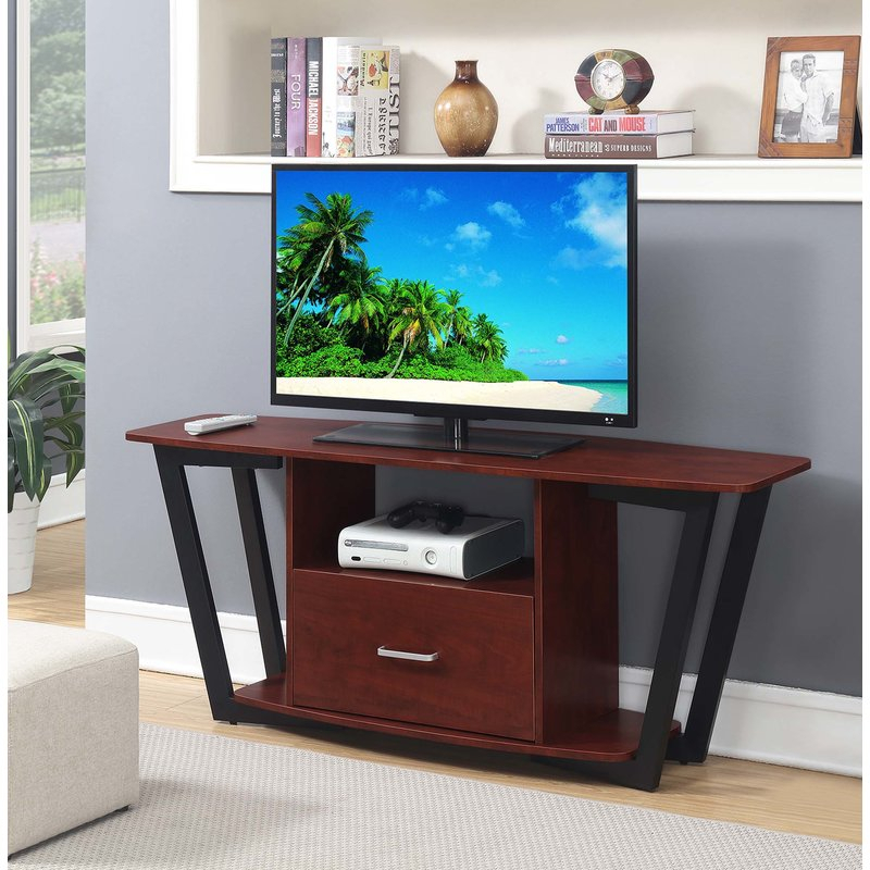"Widely Used Edwin Grey 64 Inch Tv Stands With Regard To Wrought Studio Andujar Tv Stand For Tvs Up To 65"" & Reviews (View 15 of 25)"