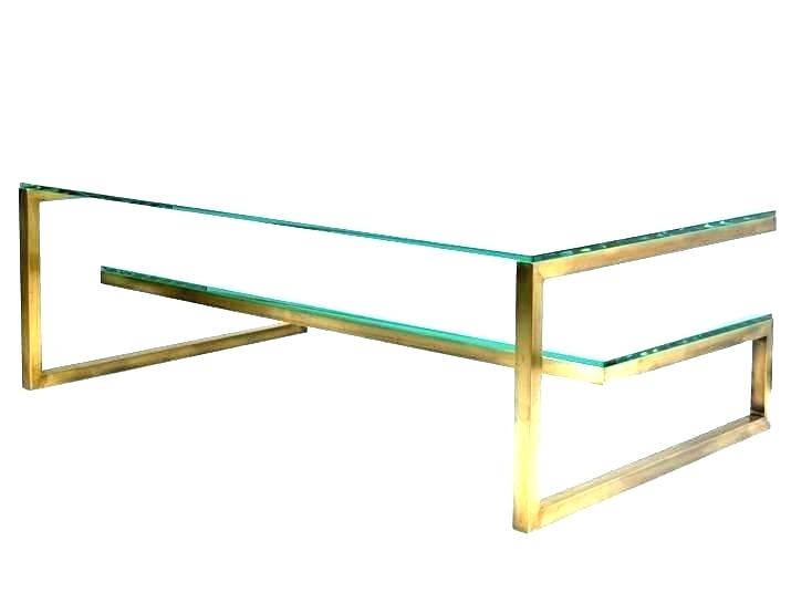 Widely Used Elke Marble Console Tables With Brass Base Regarding Glass Top Coffee Table Brass Base And Bas – Trains Railways (Image 25 of 25)