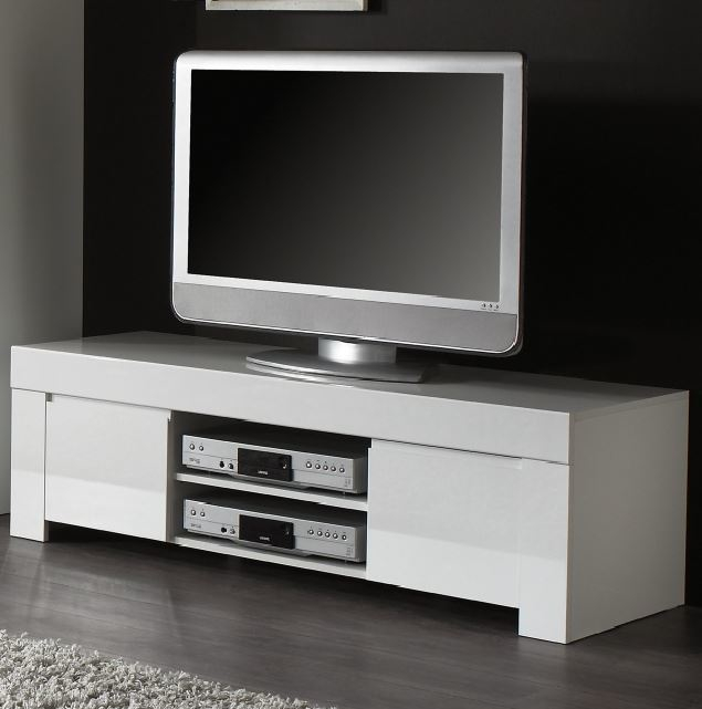 Widely Used Gloss White Tv Cabinets For White Gloss Tv Units – Shop Online At Furnish Uk (Image 24 of 25)