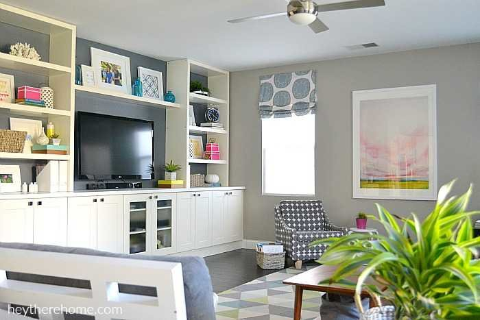 Widely Used Ikea Built In Tv Cabinets Within Diy Built In Using Ikea Cabinets And Shelves (Image 25 of 25)