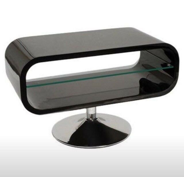 Widely Used Opod Tv Stand Black With Regard To Techlink Modern Contemporary Opod Black And Glass Tv Media Stand Rrp (Image 25 of 25)