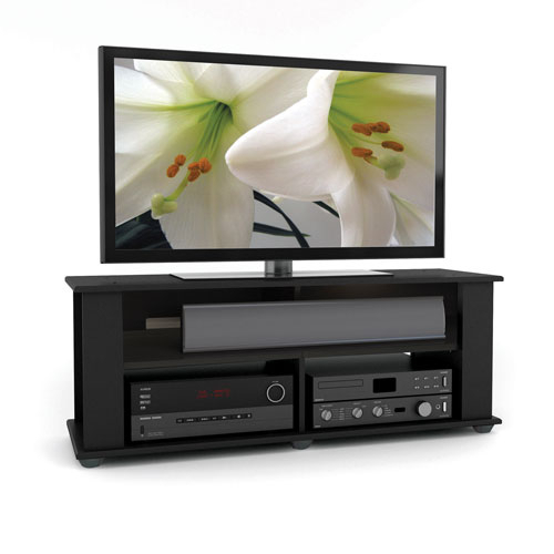 Widely Used Rowan 45 Inch Tv Stands For Black Liquor Cabinet Furniture (Image 25 of 25)