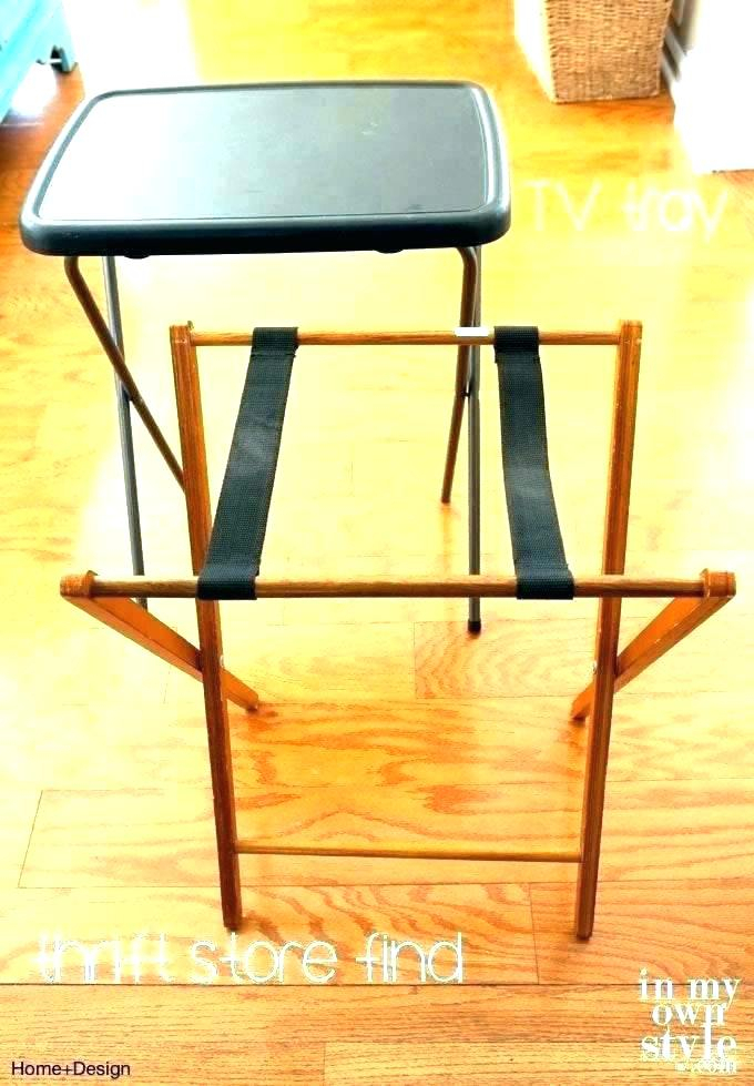 Widely Used Tv Tray Set With Stands In Espresso Tv Tray Set – Mozicity (Image 21 of 25)