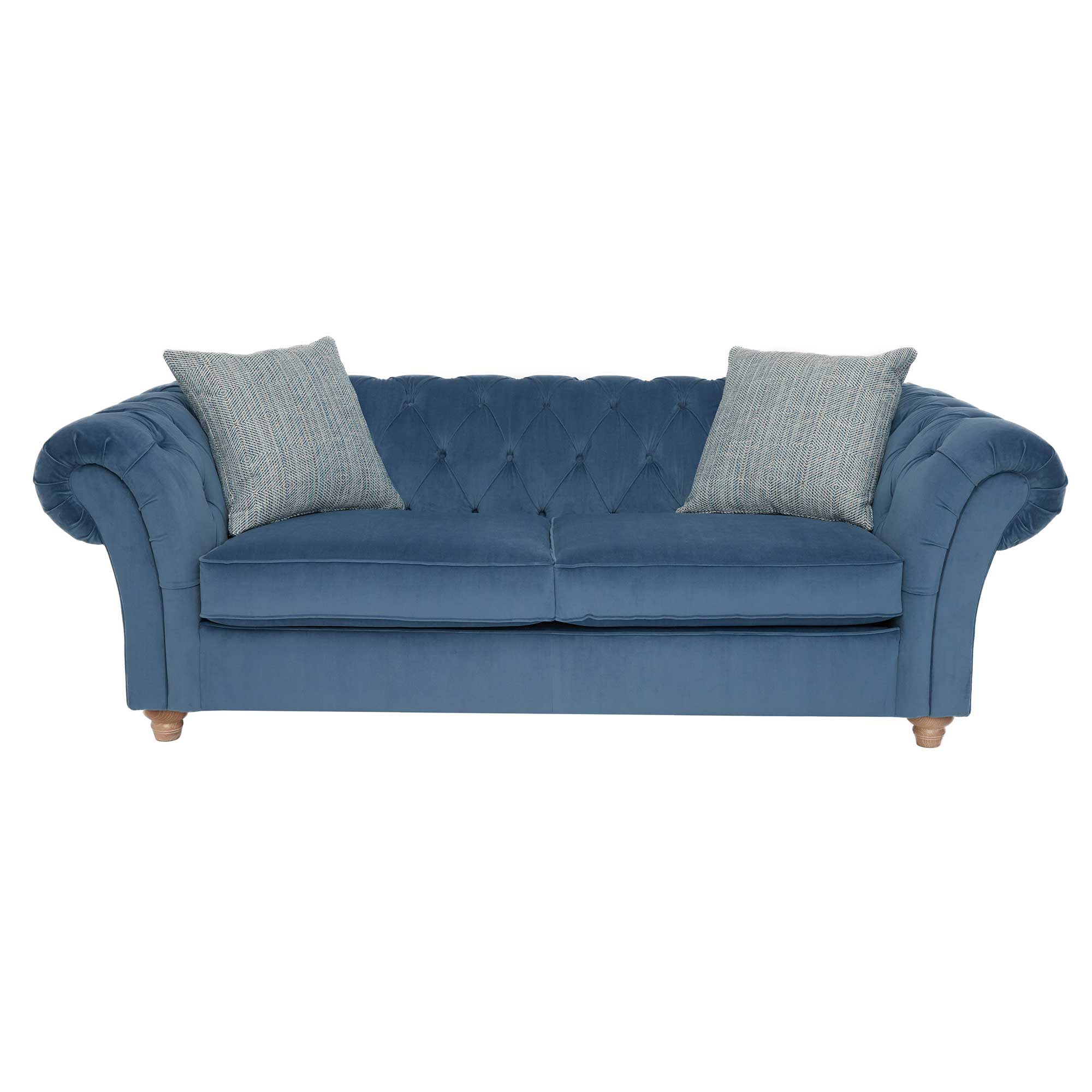 Willow And Hall Sofas : Probably Super Cool Large Chesterfield Intended For Maddox Oversized Sofa Chairs (View 7 of 25)