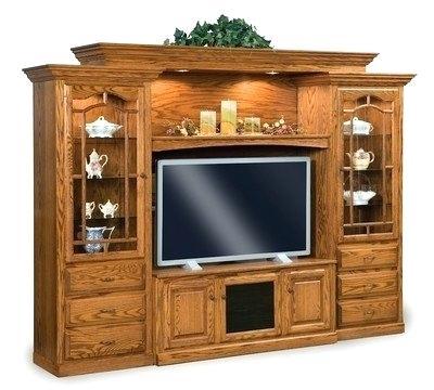 Wood Cabinet Tv Wood Corner Tv Cabinet With Glass Doors Throughout 2018 Corner Tv Cabinets With Glass Doors (View 24 of 25)