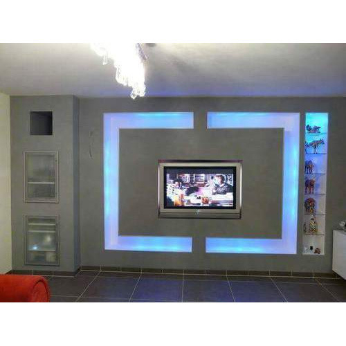 Wooden Led Panel Tv Cabinet, लकड़ी के टीवी की With Regard To Current Led Tv Cabinets (Image 24 of 25)