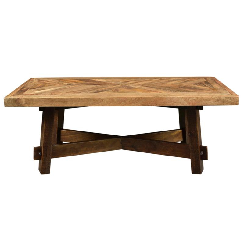 Worldwide Home Furnishings Occasional Tables Yukon 301 949Rec Coffee In Trendy Yukon Natural Console Tables (View 16 of 25)