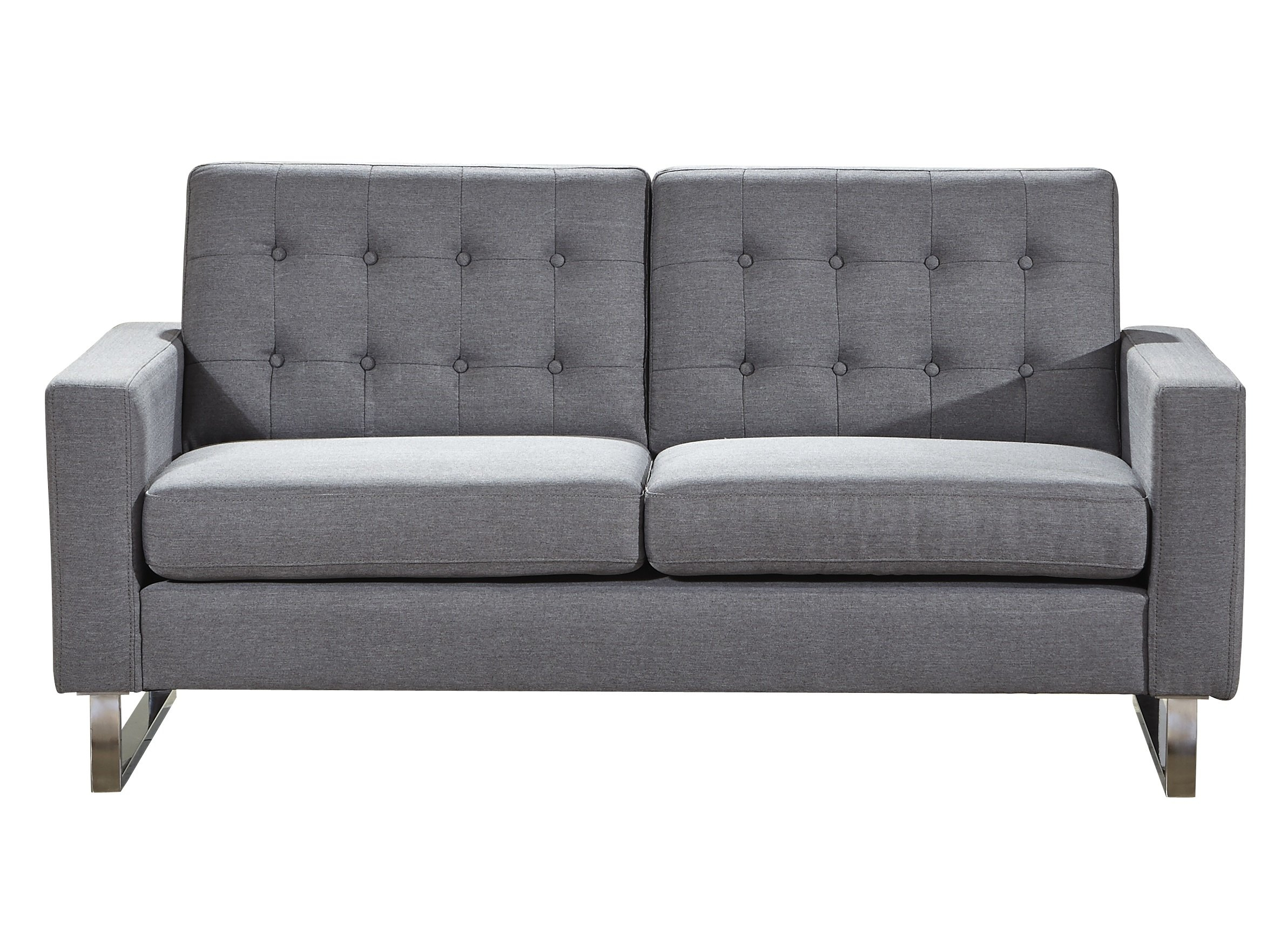 Wrought Studio Gwen Loveseat | Wayfair Throughout Gwen Sofa Chairs (View 5 of 25)