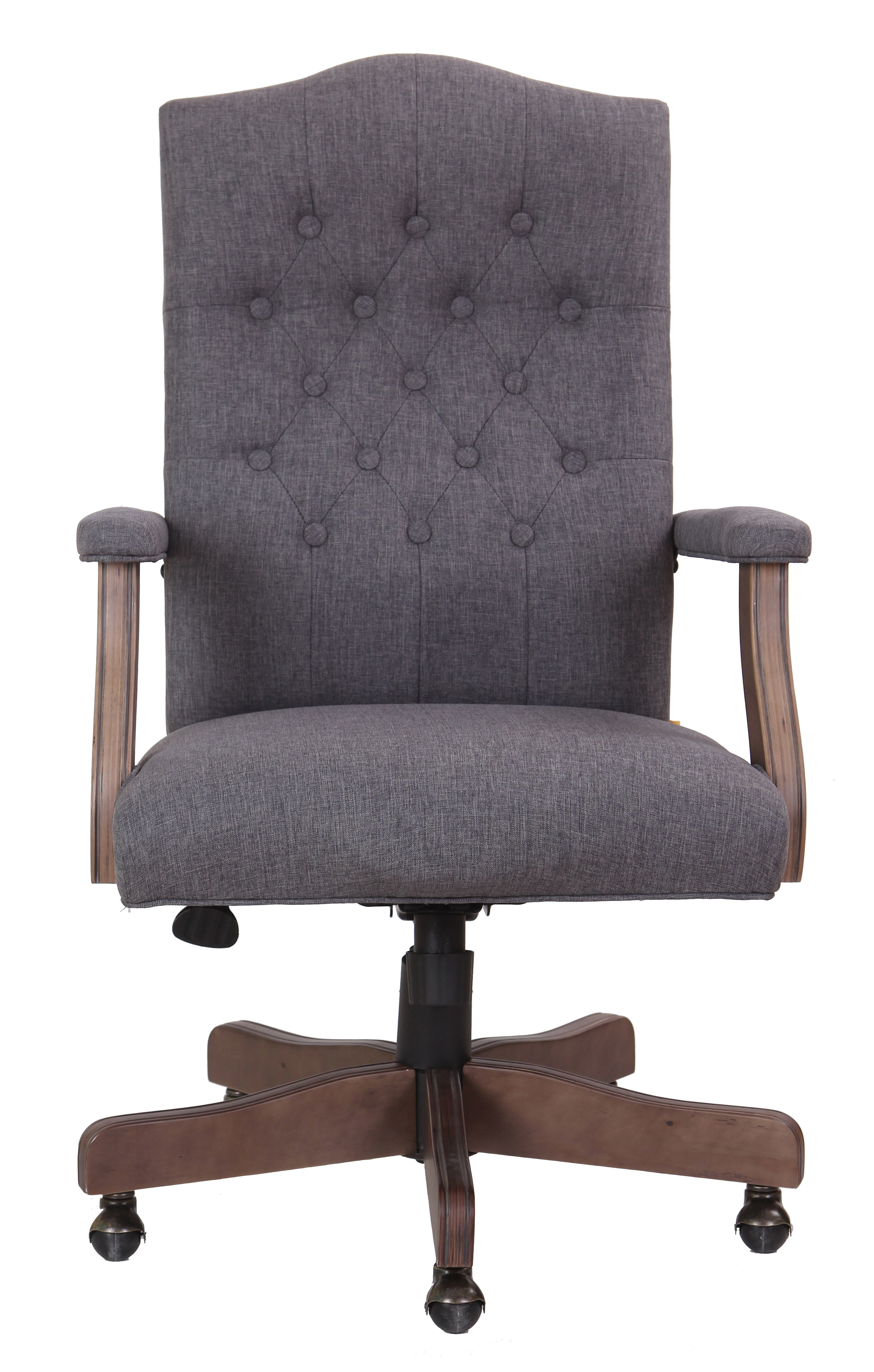 Wurthing High Back Executive Chair & Reviews | Joss & Main Intended For Katrina Grey Swivel Glider Chairs (View 20 of 25)