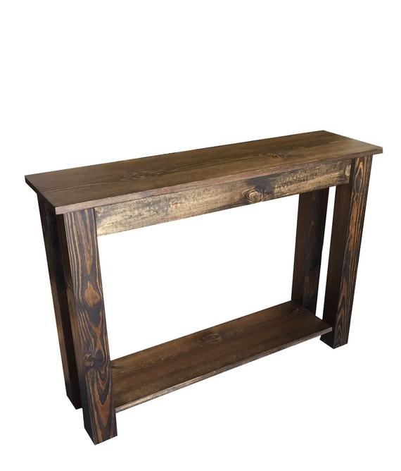 Yukon Sofa Table / Entry Table / Sofa Table / Foyer Table / (Image 24 of 25)