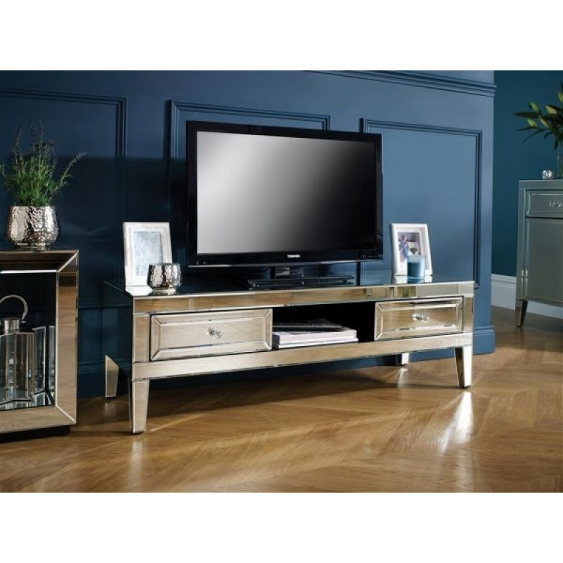Zurleys pertaining to Most Recently Released Mirrored Furniture Tv Unit