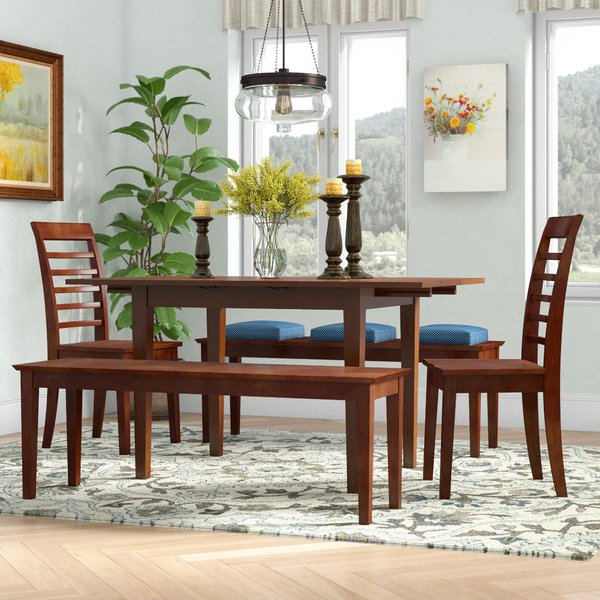 1 5 Piece Drop Leaf Dining Setwildon Home® Wonderful | Kitchen Inside Casiano 5 Piece Dining Sets (View 8 of 25)