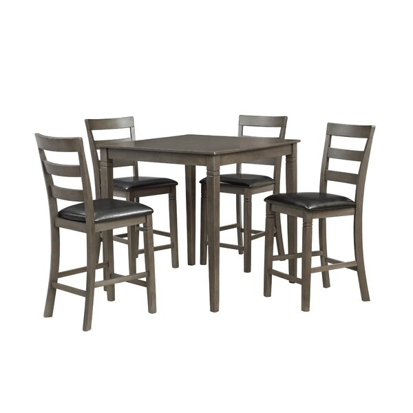 1 Ismay 5 Piece Dining Setthree Posts No Copoun | Kitchen Within Noyes 5 Piece Dining Sets (Image 1 of 25)