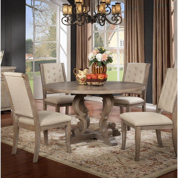 1 Lake Lucerne 5 Piece Dining Setbeachcrest Home Comparison Throughout Presson 3 Piece Counter Height Dining Sets (Photo 7 of 25)