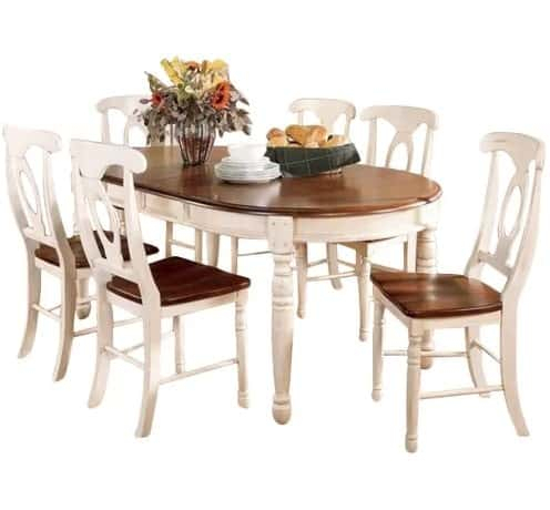 10 Dining Room Sets Under $1,000 That Seats 6, 8, 10 Or 12 People In Smyrna 3 Piece Dining Sets (View 23 of 25)