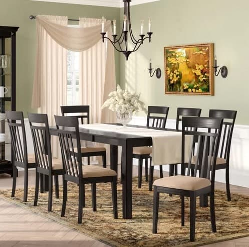 10 Dining Room Sets Under $1,000 That Seats 6, 8, 10 Or 12 People within Smyrna 3 Piece Dining Sets
