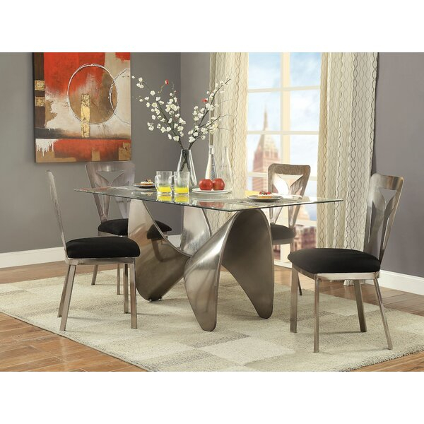 2 Bordeaux 5 Pieces Dining Setbrayden Studio Herry Up | Kitchen For Poynter 3 Piece Drop Leaf Dining Sets (View 10 of 25)