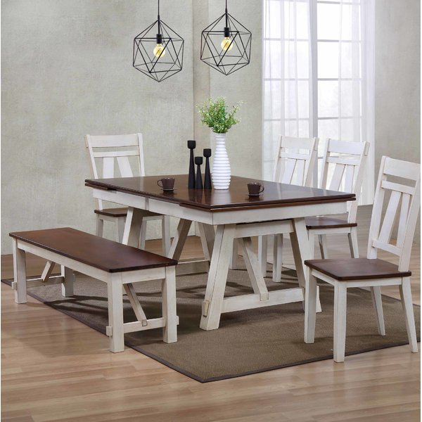 2 Bordeaux 5 Pieces Dining Setbrayden Studio Herry Up | Kitchen Within Poynter 3 Piece Drop Leaf Dining Sets (Photo 12 of 25)