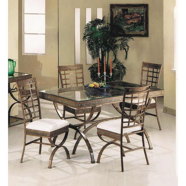2 Cleopatra 5 Piece Dining Seta&j Homes Studio Spacial Price With Kinsler 3 Piece Bistro Sets (View 21 of 25)