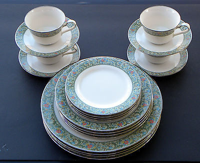 20 Piece Set ~ Isoldenoritake 4 X 5 Piece Place Settings Dinner With Regard To Isolde 3 Piece Dining Sets (Photo 24 of 25)