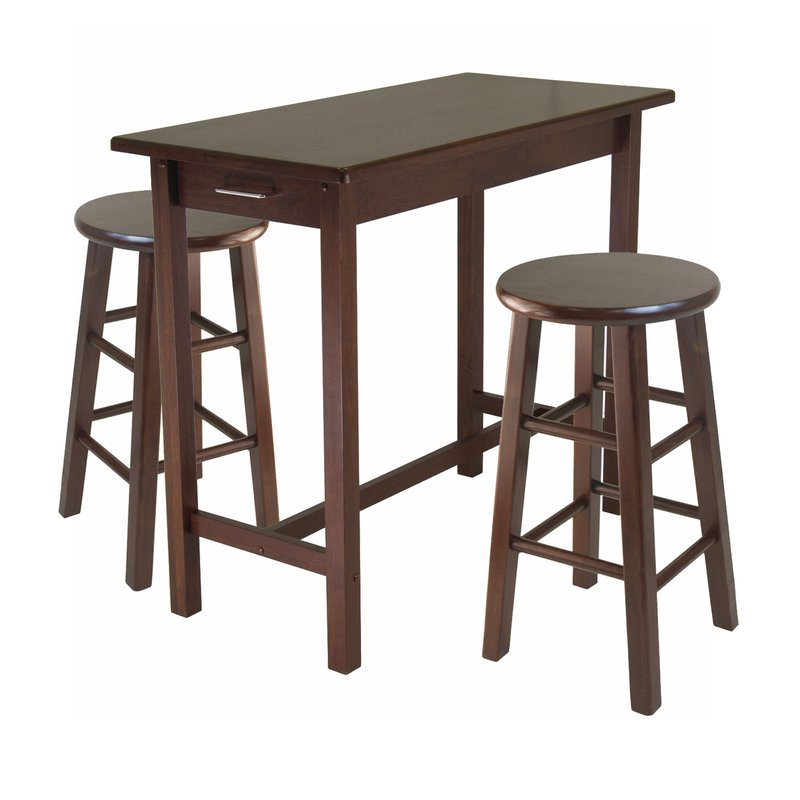 3 Piece Breakfast Dining Set within 3 Piece Breakfast Dining Sets