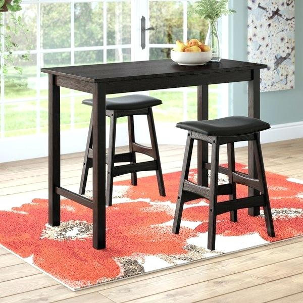 3 Piece Counter Height Table Set – Moldesdesilicona.co Throughout Winsome 3 Piece Counter Height Dining Sets (Photo 21 of 25)