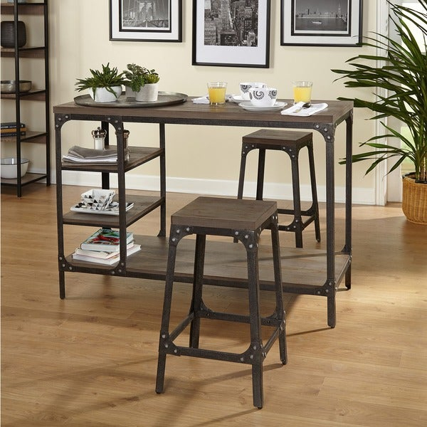 3 Piece Dining Set Counter Height – Ingamecity – Intended For Mizpah 3 Piece Counter Height Dining Sets (View 18 of 25)