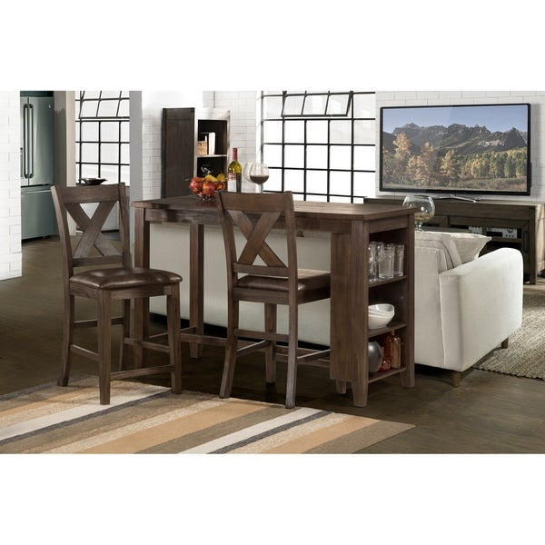 3 Piece Dining Set Counter Height - Ingamecity - with regard to Mizpah 3 Piece Counter Height Dining Sets