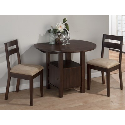 3 Piece Dining Sets. Woim Bristol 3 Piece Dining Set Amp Reviews With Bedfo 3 Piece Dining Sets (Photo 3 of 25)