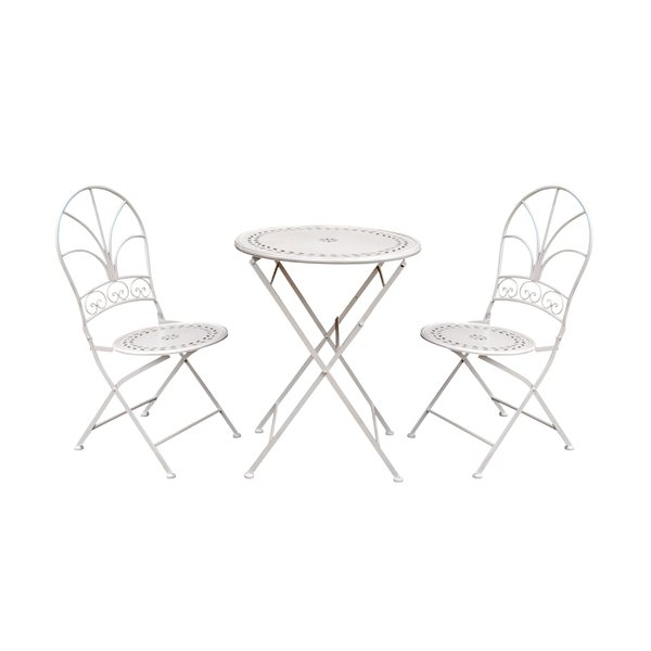 3 Piece Tall Bistro Set | Wayfair Pertaining To Kinsler 3 Piece Bistro Sets (View 15 of 25)