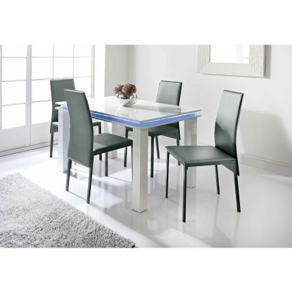 329519 Alaska 5 Piece Dining Set | Ideas | Dining Table, Dining With Regard To Conover 5 Piece Dining Sets (View 11 of 25)