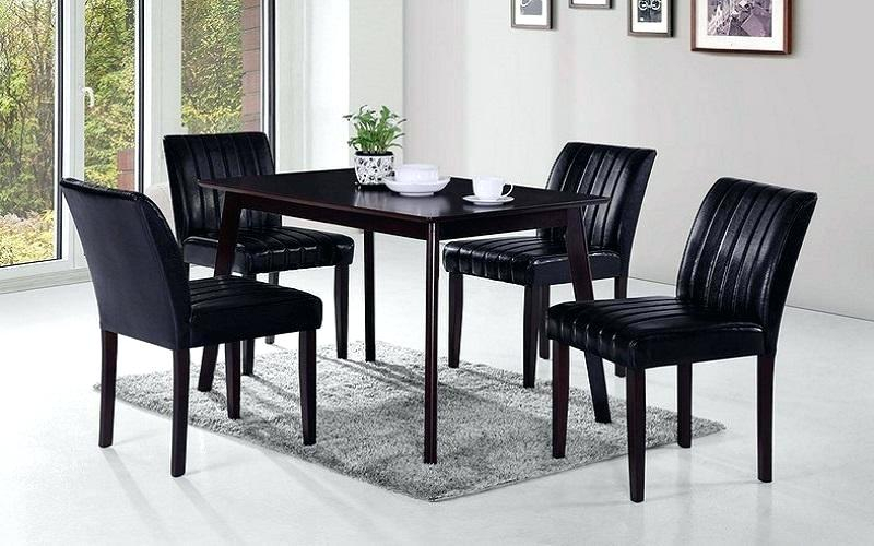 5 Pc Kitchen Set – Laurasly Throughout Adan 5 Piece Solid Wood Dining Sets (Set Of 5) (Photo 22 of 25)