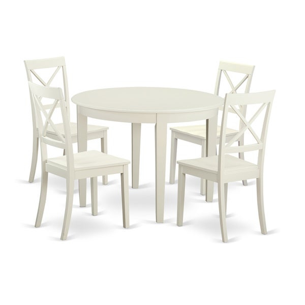 5-Piece Kitchen Nook Dining Set For 4-Table And 4 Kitchen Chairs throughout 5 Piece Breakfast Nook Dining Sets
