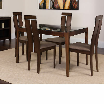 Ac Pacific 5 Piece Dining Set – $ (Image 2 of 25)