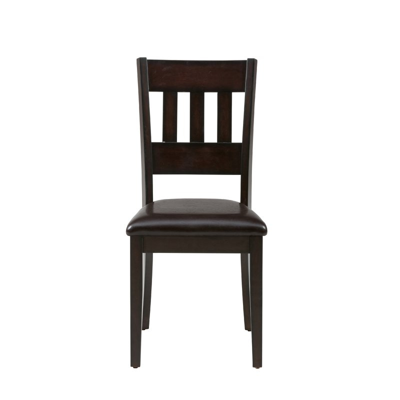 Adan 5 Piece Solid Wood Dining Set Regarding Adan 5 Piece Solid Wood Dining Sets (Set Of 5) (Image 6 of 25)