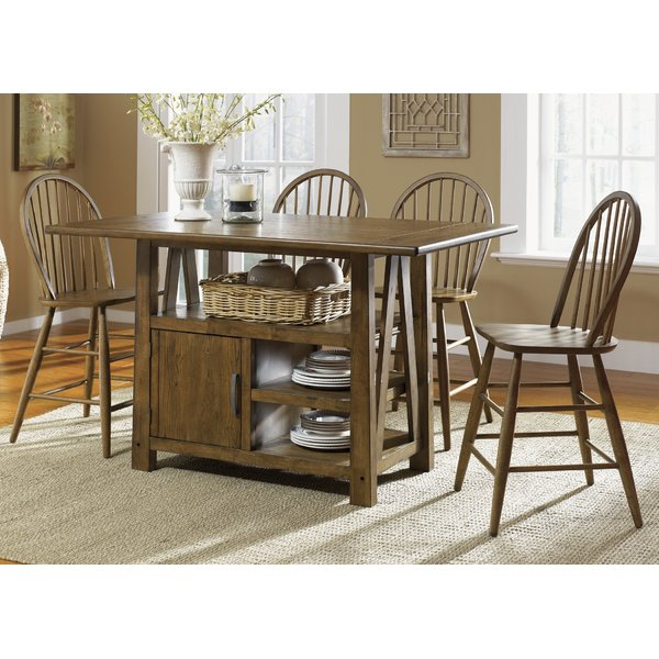 Adriana 5 Piece Pub Table Setlangley Street Wonderful On| Accent With Ganya 5 Piece Dining Sets (Image 1 of 25)