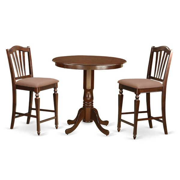 Allyson Park 4 Piece Pub Table Setdarby Home Co Reviews On| Oval With Regard To Valladares 3 Piece Pub Table Sets (View 17 of 25)