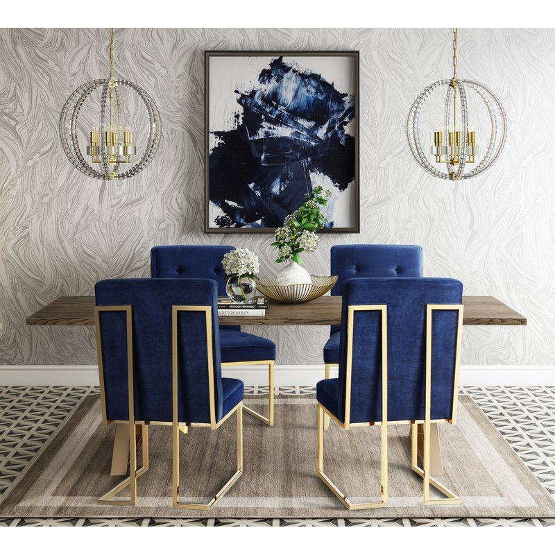 Alvaro 5 Piece Dining Set In 5 Piece Dining Sets (Image 1 of 25)