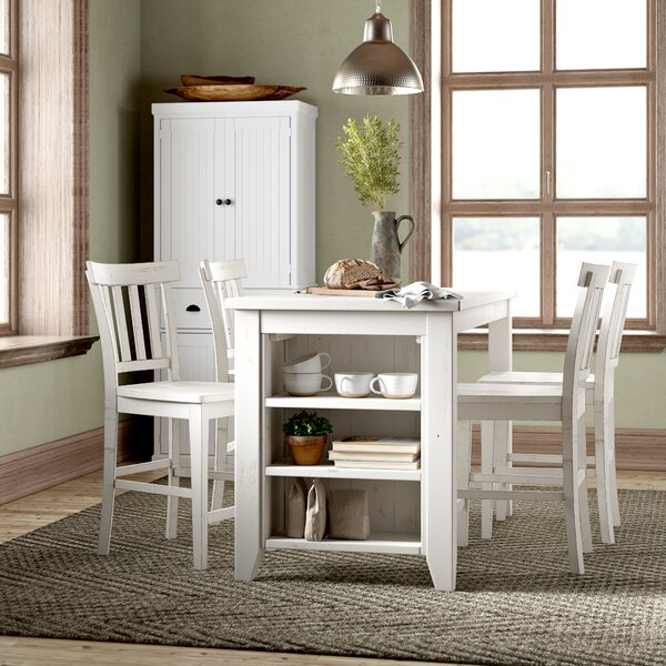 Amazing Frasier 5 Piece Dining Setbirch Lane™ Heritage Spacial Intended For Bryson 5 Piece Dining Sets (View 13 of 25)