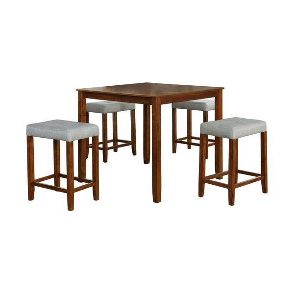 Amazing Len 7 Piece Dining Setorren Ellis Coupon | Kitchen Regarding Weatherholt Dining Tables (Image 3 of 25)