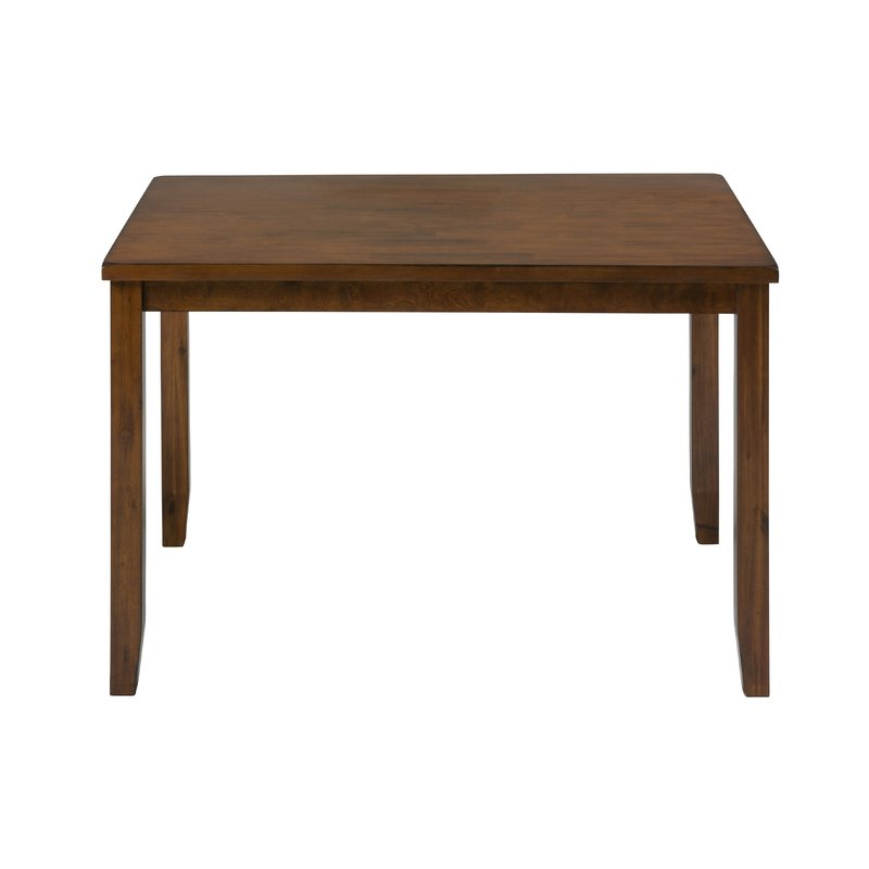 Amir 5 Piece Solid Wood Dining Set Pertaining To Amir 5 Piece Solid Wood Dining Sets (Set Of 5) (Image 4 of 25)