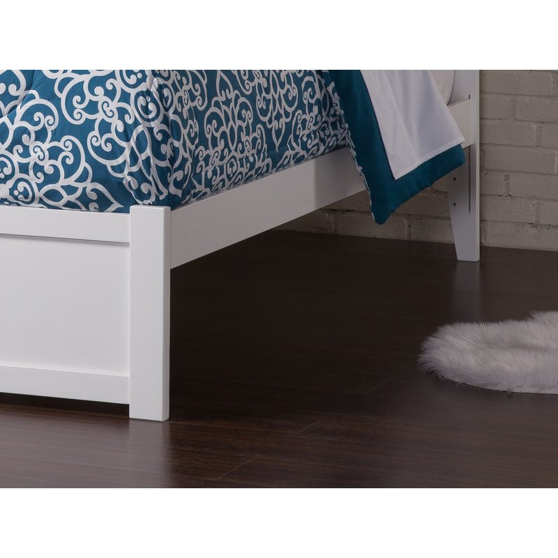 Amir Platform Bed With Trundle, Drawers And Bookcase Within Amir 5 Piece Solid Wood Dining Sets (Set Of 5) (Image 5 of 25)