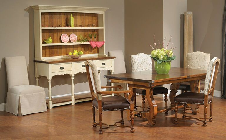 Amish Furniture: Shop Online With Countryside Amish Furniture For Berrios 3 Piece Counter Height Dining Sets (Image 1 of 25)