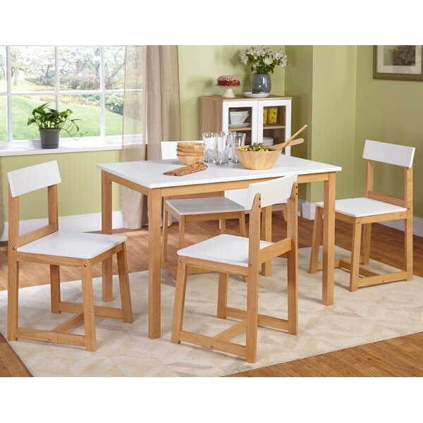 Aria 5 Piece Dining Set Within Aria 5 Piece Dining Sets (Image 3 of 25)