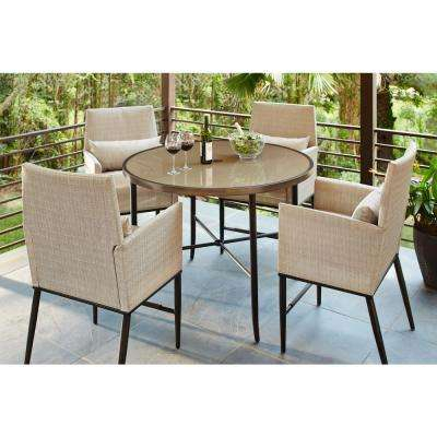 Aria – Patio Dining Sets – Patio Dining Furniture – The Home Depot Throughout Aria 5 Piece Dining Sets (Image 1 of 25)